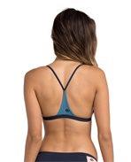 Mirage Colorblock Fixed Triangle Bikini Top
