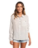 White Wash Long Sleeve Shirt