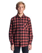 Check It Long Sleeve Boy Shirt