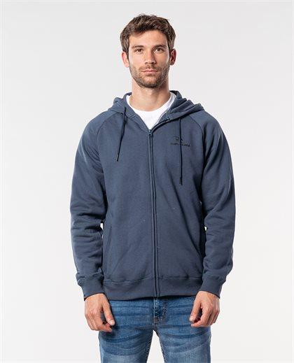 Surf Co. Hooded Zip Through Fleece