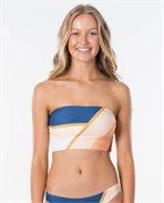 Sunsetters Block Bandeau Bikini Top