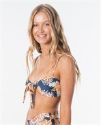 Sunsetters Floral Bralette Bikini Top