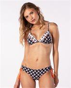 Odesha Geo Fixed Triangle Bikini Top