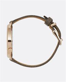 Reloj Super Slim Rose Gold Leather