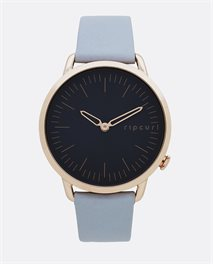 Super Slim Rose Gold Leather – Relógio
