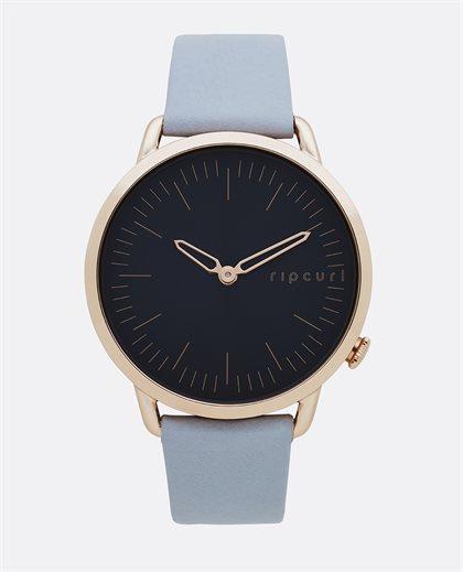 Super Slim Rose Gold Leather Watch
