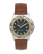Large Heat Bezel Leather Watch