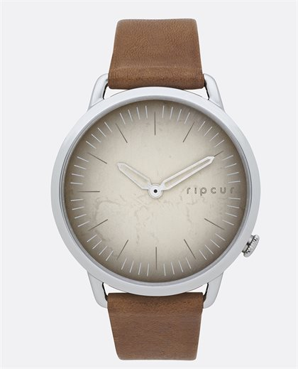 Super Slim Vintage Leather Watch