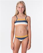 Girl Sunstter Stripe Bikini