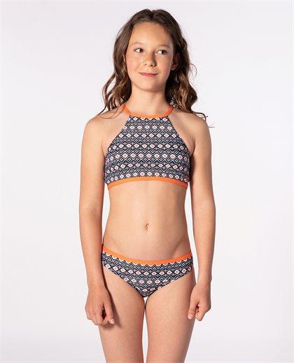 Odesha Geo High Neck Bikini