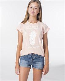 T-shirt Girl Pineapple