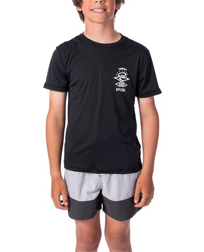 Boys Search Logo Short Sleeve UV Tee