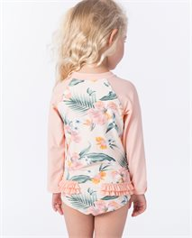 Bañador de surf Mini Coconut Time Long Sleeve