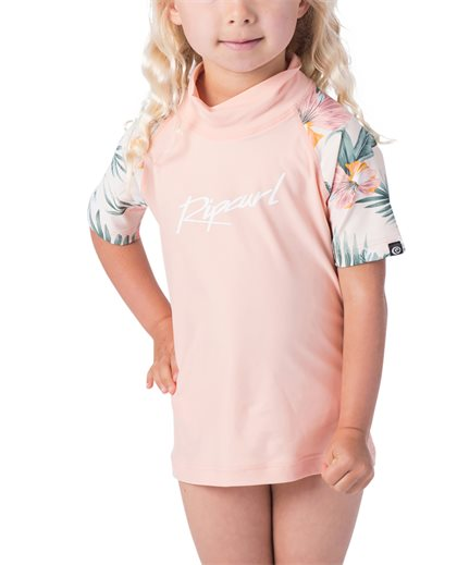 Mini Coconut Time Short Sleeve Suit