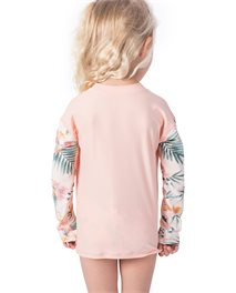 Mini Coconut Time Zip Long Sleeve