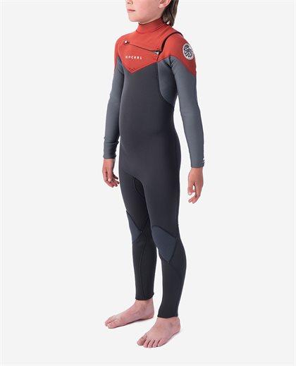 Junior Dawn Patrol 5/3 Chest Zip Wetsuit