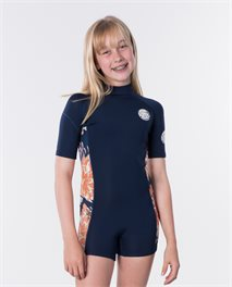 Traje de neopreno Junior Girl Dawn Patrol manga corta