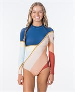 Long Sleeve UV Cheeky Surfsuit