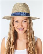 Surf Shack Straw Panama Hat