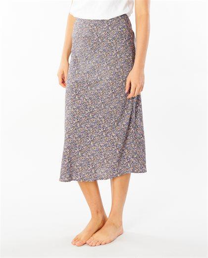 Bells Floral Midi Skirt