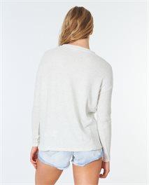 Sweat-shirt col V Cosy