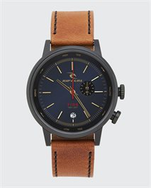Drake Tide Digital Leather Watch