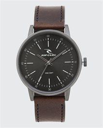 Reloj Drake Leather Gunmetal
