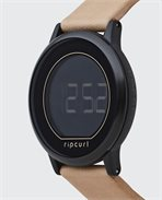 Daybreak Digital Midnight Leather Watch