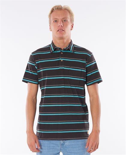 Aurora Stripe Polo