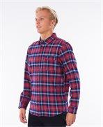 Saltwater Culture Check Long Sleeve Shirt