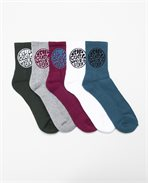 Wetty Crew Sock 5-Pack