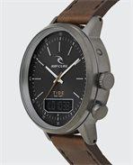 Drake Tide Digital Leather Watch
