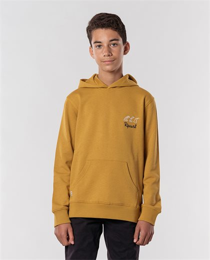 Salt Water Culture Hood Fleece Boys
