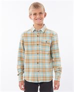Salt Water Culture Check Long Sleeve Shirt Boy