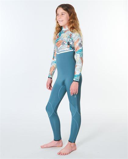 Junior Flashbomb 4/3 Zip Free Wetsuit