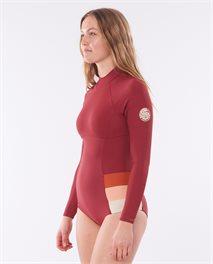 Golden Daze Long Sleeve UV Surf suit