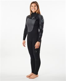 Women Flashbomb E6 Heat Seeker 3/2 Zip Free Wetsuit