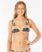 Marigold Deep V Top Bikini Top