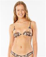 Marigold Fixed Triangle Bikini Top