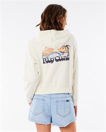 Breaking Waves Hoodie Fleece