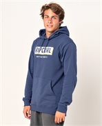 Boxed Hooded Pop Over Fleece