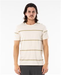 Saltwater Culture Sundown Stripe Tee