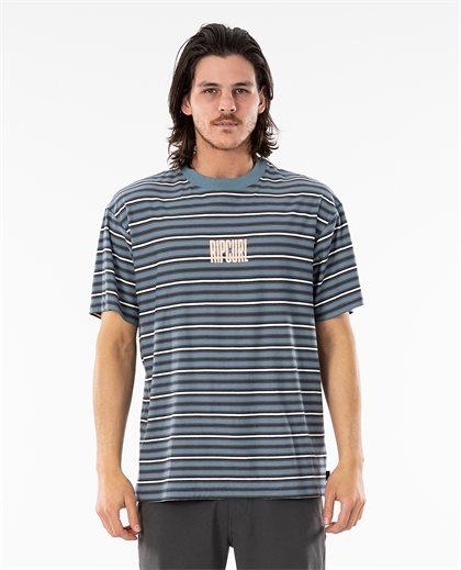 Mind Wave Stripe Tee