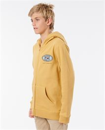 Ocean Sun Zip Hood Fleece Boy