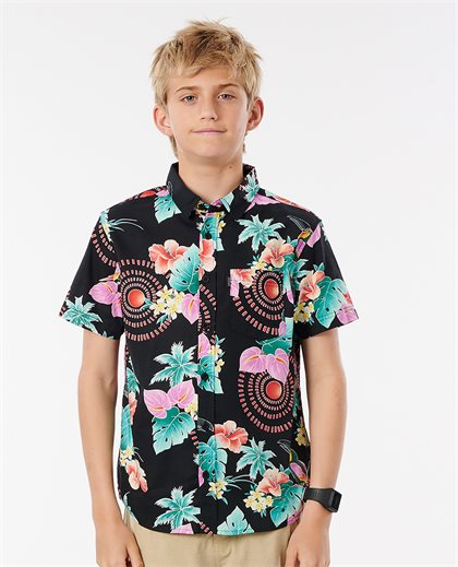 Tropical Short Sleece Shirt Boy