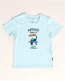Camiseta de manga corta Animalous Grom