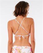 Parte de arriba de bikini North Shore Cross Back Triangle