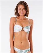 Coastal Palms Bandeau Bikini Top