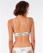 Coastal Palms Longline Triangle Bikini Top