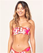 Sugar Bloom Bandeau V Bikini Top